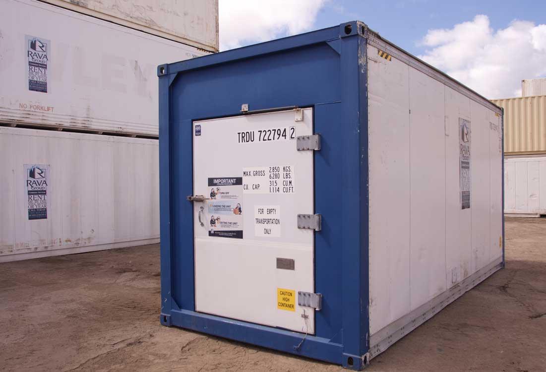 20′ Contenedor Refrigerado (Puerta Especial)