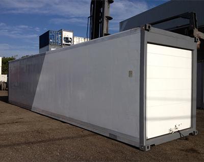 40′ Contenedor Refrigerado (Puerta Rodante)
